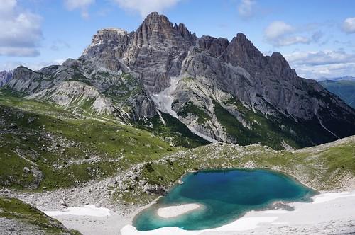 der lange Weg*** in den Dolomiten