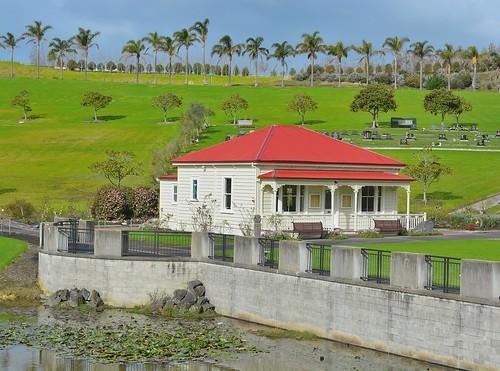 Old Villa At Auckland Memorial Park