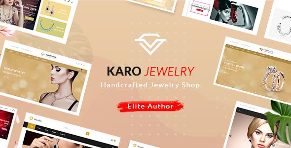 Karo v1.1.8 - Handcrafted Jewelry WooCommerce WordPress Theme