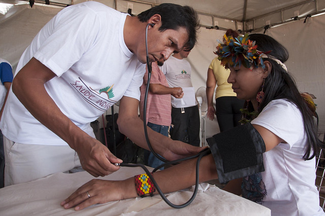 Atendimento de saúde indígena é de competência da União, por meio da Secretaria Especial de Saúde Indígena (Sesai) - Créditos: Ministério da Saúde/Divulgação