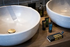 Badezimmer der Junior Suite