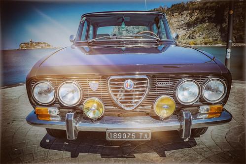 a Classic Alfetta - Alfa Romeo