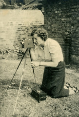 Unknown Woman With Camera