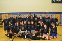 Faculty 8th Grade Volleyball Game