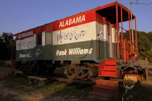 Home of Hank Williams Caboose