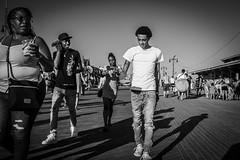 A Short Walk on the Coney Island Boardwalk