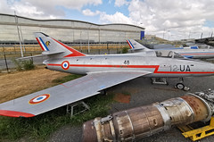 French Air Force / Dassault super mystere / 12-UA