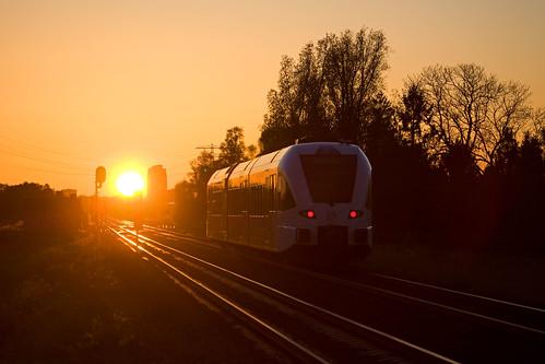 Arriva GTW 2-6 - trein 20150 Weener - Groningen  - Waterhuizen