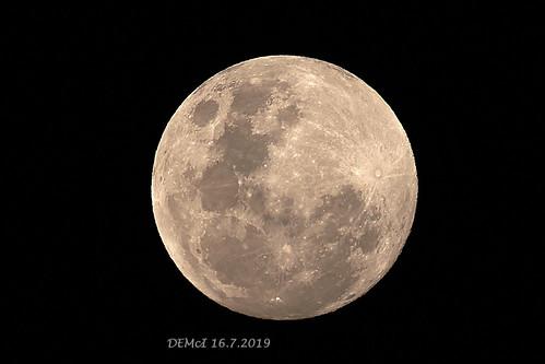 Full moon, 16 Jul 2019, 18:08 AEST