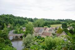 The Bridge over the River Sarthe - Photo of Fyé