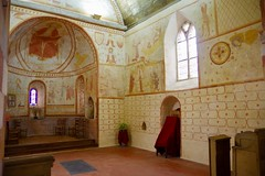 Medieval Wall Paintings dating from the 12th to 15th Century - Photo of Fyé