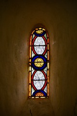 Stained Glass Window - Photo of Fyé