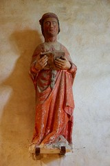 Medieval Statue of Saint-Céneri-le-Gérei - Photo of Saint-Céneri-le-Gérei