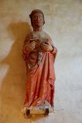 Medieval Statue of Saint-Céneri-le-Gérei - Photo of Fyé