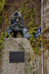 Bronze Bust of Paul Saïn (Painter) by Christian Malézieux - Photo of Condé-sur-Sarthe