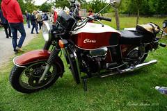 DSC02634 - Lindlar  Moto Guzzi V7 mit Ford V4