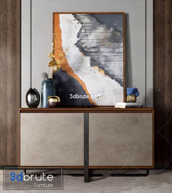 Sell Sideboard 2019 vol 2 set 3d model