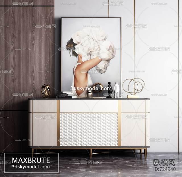 Sell Sideboard 2019 vol 2 set 3dsmax