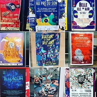 Vous connaissez @affichionados ? Il inventorie les affiches qu'on peut voir dans #rennes Franchement sympa !