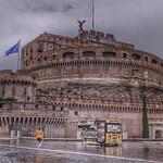 Roma, Castel Sant'Angelo dopo un temporale - https://www.flickr.com/people/128461231@N07/