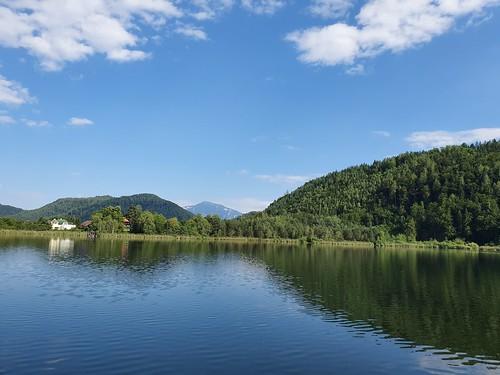 Urlaub Kärnten Juli 2019 Angeln Kleinsee