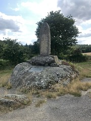Resistance memorial near St Connec. Brittany