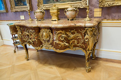 Rococo commode with dragons