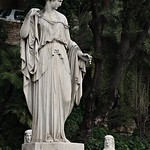 Piazza del Popolo:  Statue delle Quattro Stagioni;  La Primavera di Filippo Gnaccarini - https://www.flickr.com/people/82911286@N03/