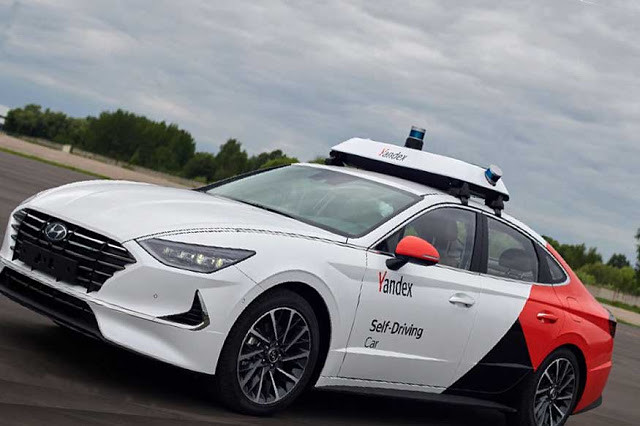 Sonata: Hyundai and Yandex autonomous car unveiled before