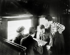 A game of chess in a tourist sleeper ( c1906 )