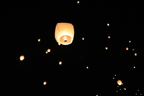 Lantern Lights Festival: Going up, up and up