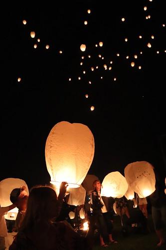 Lantern Lights Festival: Getting ready for Lantern to float