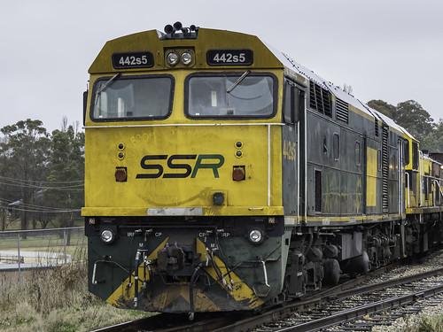 Locomotive 442s5 named Smokey McSookington
