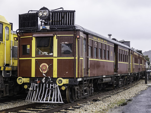 Railmotor CPH12 of LVR Lachlan Valley Railway