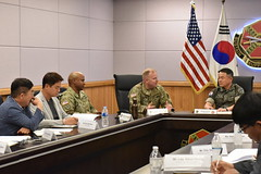 GC's meeting with Pyeongtaek City & Pyeongtaek University - U.S. Army Garrison Humphreys, South Korea - 16 July, 2019