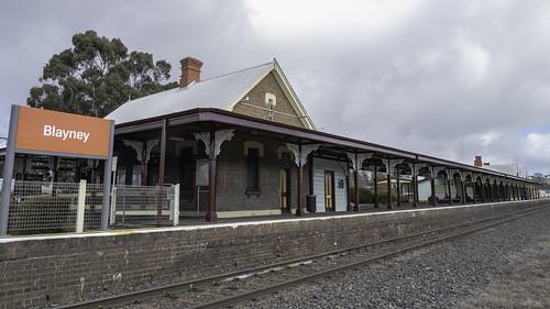 Blayney Railway Station - built 1876 - see below