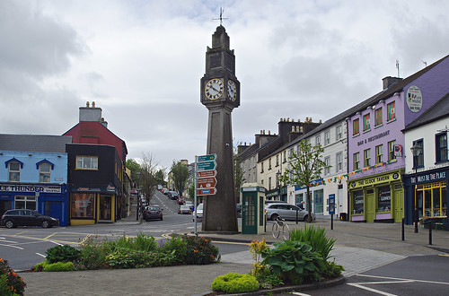 Clock tower, Westport
