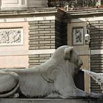 Piazza del Popolo:  Fontana dei leoni - https://www.flickr.com/people/82911286@N03/