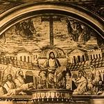 1930 2009 Santa Pudenziana mosaico absidale V sec. a ,foto d'anonimo - https://www.flickr.com/people/35155107@N08/
