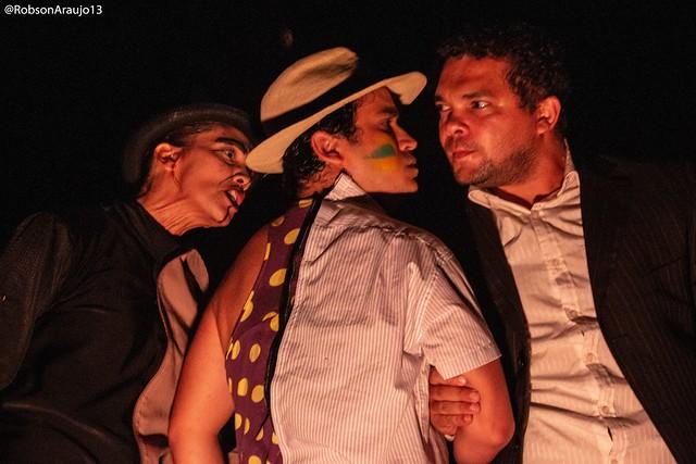 Grupo de Teatro Facetas mergulha no texto de Plínio Marcos - Créditos: Robson Araújo/Divulgação