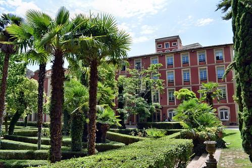Gran Hotel Cascada en el balneario (Alhama de Aragón)
