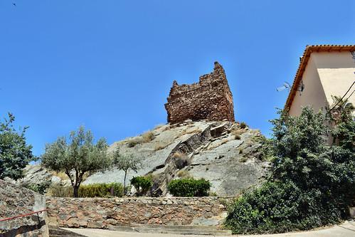 Restos del castillo (Castejón de las Armas)