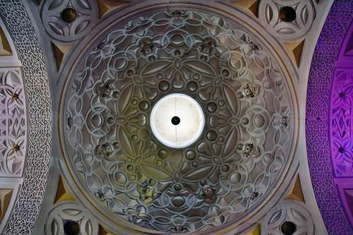 Cúpula de la iglesia de la Natividad de la Virgen (Alhama de Aragón)