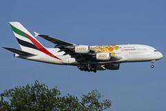A6-EOU - Emirates - Airbus A380