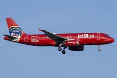 N615JB - jetBlue - Airbus 320