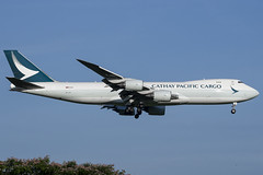 B-LJG - Cathay Pacific - Boeing 747-8F