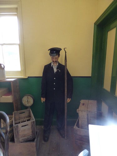 East Anglian Railway Museum - The Goods Shed - office of the Goods Clerk