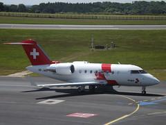 HB-JWB Bombardier Canadair Challenger 650 (Swiss Air-Ambulance)