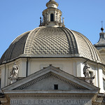 Piazza del Popolo: Chiesa di S.Maria dei Miracoli - https://www.flickr.com/people/82911286@N03/