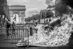 Paris, manifestation du 14 juillet 2019 des Gilets Jaunes
